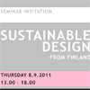 Семинар Sustainable design from Finland и практикум A New Russian Style and Design Identity.